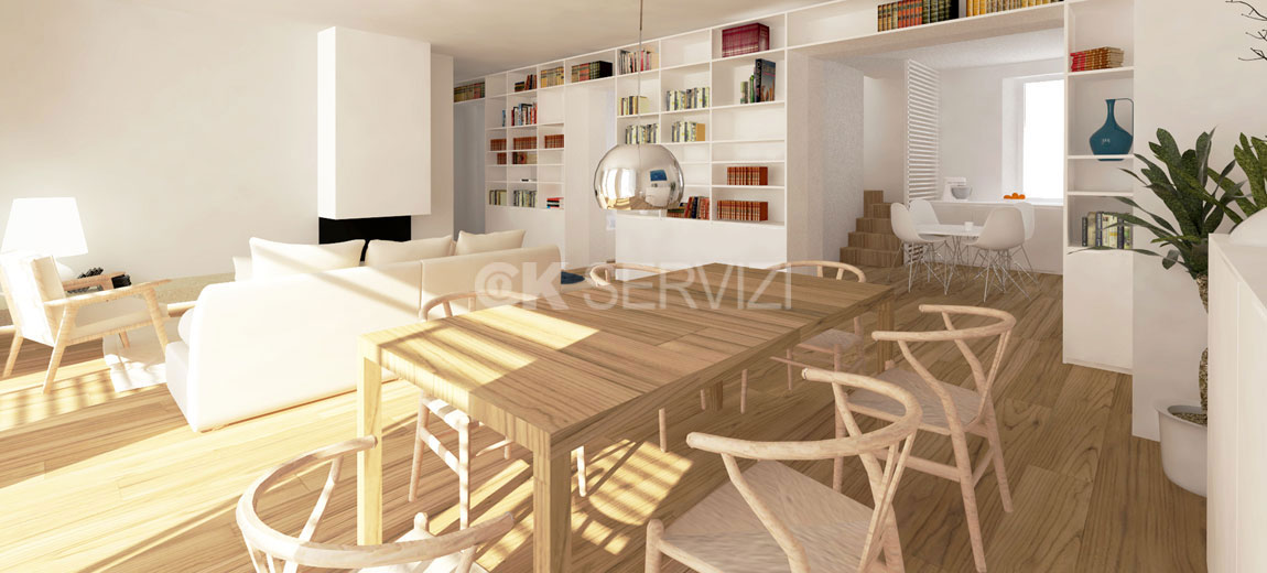 Ristrutturazione Appartamento con Terrazzo